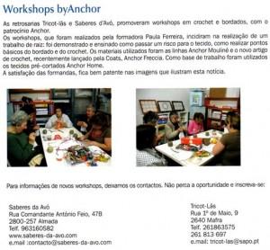Workshops na Saberes da Avó