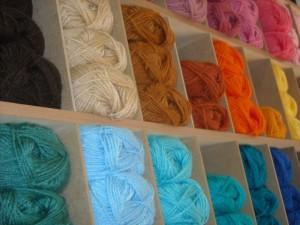 Novelos de las para tricot, malha e crochet