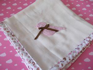 Fralda com Crochet